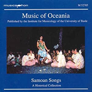 Music Of Oceania: Samoan Songs