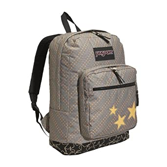 JanSport Axle Backpack (Dark Grey/Stars)