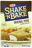 Kraft Shake N Bake Seasoned Coating Mix Box, Original Pork, 5.0 Ounce
