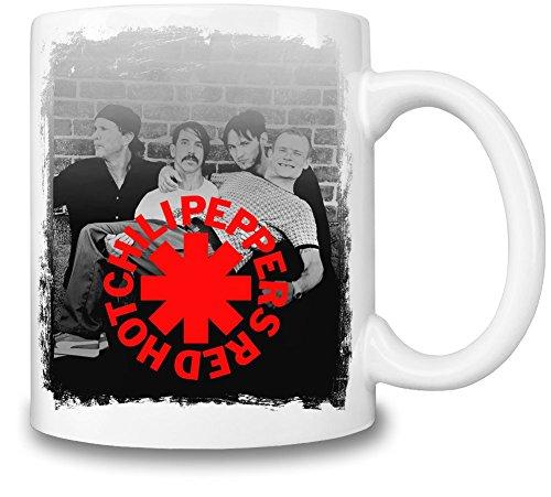 Red Hot Chili Peppers Tazza Coffee Mug Ceramic Coffee Tea Beverage Kitchen Mugs By Genuine Fan Merchandise