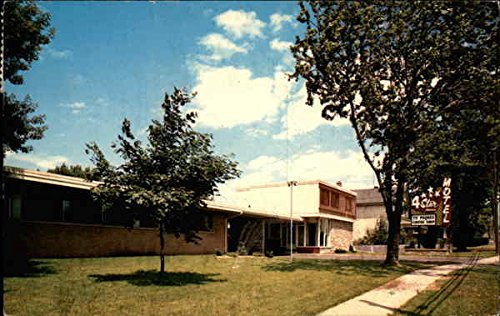 4-Star Motel Ontario Original Vintage Postcard