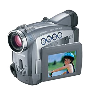 Canon ZR80 MiniDV Camcorder w/18x Optical Zoom