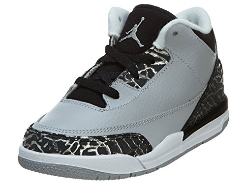 Nike Jordan 3 Retro BT Infant/Todder Basketball Shoes 832033-004 (10C)