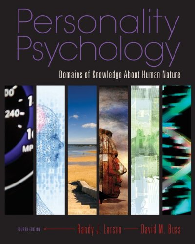 Personality Psychology: Domains of Knowledge About Human...