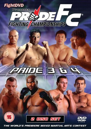 Pride 3 And 4 [DVD]