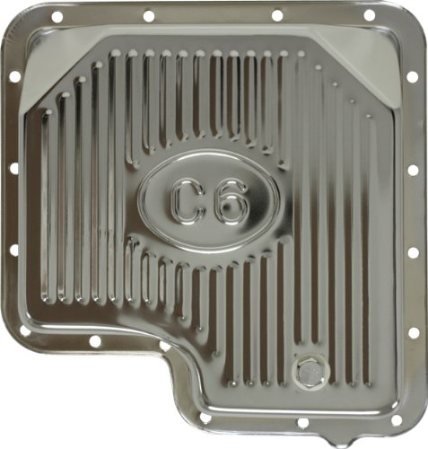 Ford C6 Steel Transmission Pan - Chrome (Ford C6 compare prices)