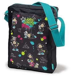 Nici Jolly Leory and Rat Shoulder Bag, Multi Color (23x32cm)