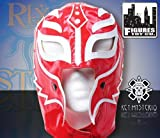 WWE Rey Mysterio Kid Size Replica Red and White Half Mask