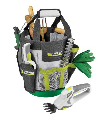 TEHO Garden Organizer Caddy Bucket