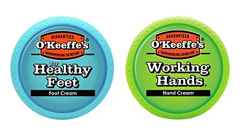 O'Keeffe's Working Hands & Healthy Feet Combination Set