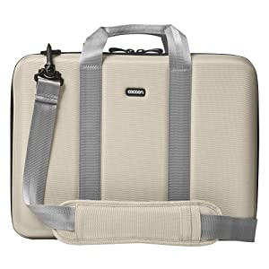 Cocoon CLB353ST Laptop Case, up to 13 inch, 15 x 3.25 x 11 inch, Beige