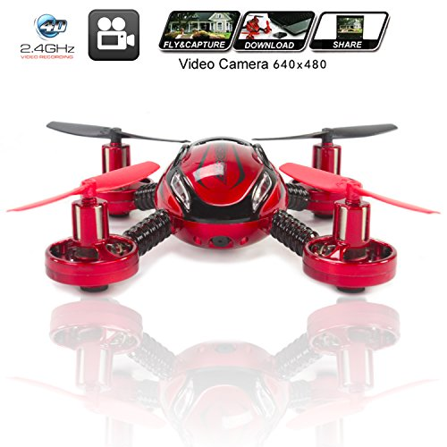 Drone-with-Camera-Quadcopter-JXD-392-Best-Mini-Drones-on-sale-Built-in-Camera-Easy-Flight-Control-Stable-Landing-Fast-Response-Remote-4GB-SD-Card-Reader-KiiToys-USA-Warranty