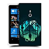 Head Case Designs Forest Skullscape Protective Snap-on Hard Back Case Cover for Nokia Lumia 800