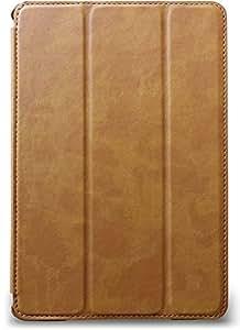 JISONCASE & your case iPad mini 4 ヴィンテージ PUレザー ケース 【VINTAGE】 (iPad mini 4, キャメル)
