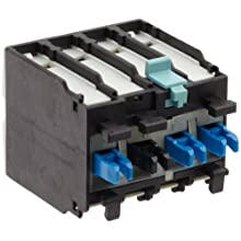 Siemens 3RH19 21-1MA20 Auxiliary Switching Block For Contactor, Screw Connection, 2 Pole, Cable Entry From Below, 2 NO Contacts