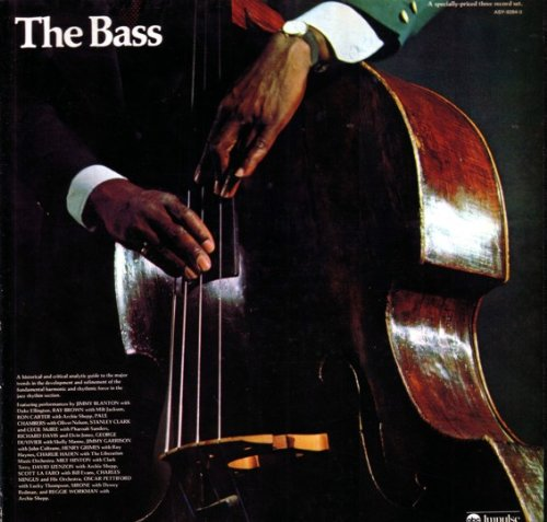 The Bass by Jimmy Blanton with Duke Ellington, Ray Brown with Milt Jackson, Ron Carter with Archie Shepp, Paul Chambers with Oliver Nelson and Stanley Clark with Cecil McBET