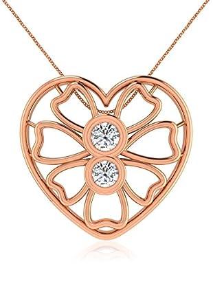 Friendly Diamonds Conjunto de cadena y colgante FDP12320R Oro Rosa