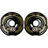 """New 12"""" x 2"""" Trailer Electric Brake Assembly (1 right + 1 left)"""