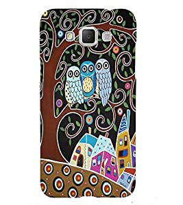 Owl tree Back Case Cover for Samsung Galaxy Grand Neo Plus::Samsung Galaxy Grand Neo Plus i9060i