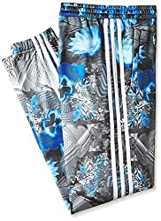 adidas Originals Girls' Trousers (AB2227140_Bold Blue and White_10 - 11 years)