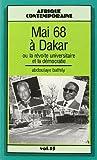img - for mai 1968 a dakar ou la revolte universitaire et la democratie book / textbook / text book