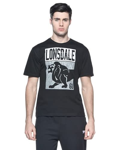 Lonsdale T-Shirt Crookes [Nero]