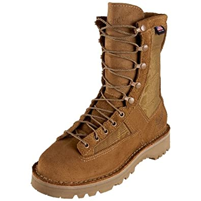 "Danner Men's Desert Acadia 8"" Olive Military Boot,Olive,4.5 D US"