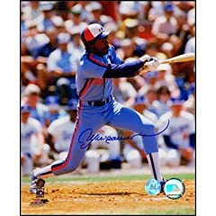 Andre Dawson Montreal Expos Autographed Hand Signed 16x20 Photo