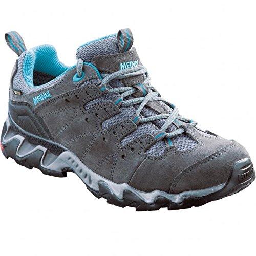 Meindl Portland Lady GTX Gore Tex scarpe da trekking scarpe da trekking, Grigio/petrolio, 37