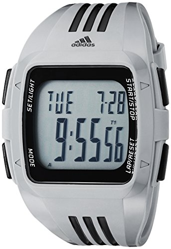 adidas Men's ADP3170 Duramo Digital Display Analog Quartz Grey Watch