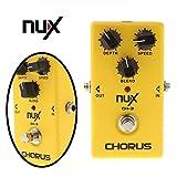 Paleo Los nux ch-3 corean el pedal del efecto de la guitarra eléctrico carretera de circunvalación verdadera