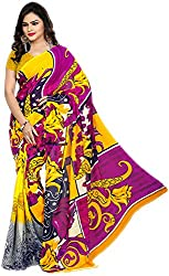 Royalty Wears Women's Chiffon Saree (5080)