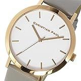 クリスチャンポール CHRISTIAN PAUL ロウ RAW クオーツ ユニセックス 腕時計 RW-06 ホワイト [並行輸入品]