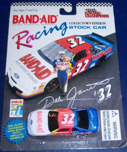 1995 Racing Champions # 32 Dale Jarrett Band-Aid 1/64 scale - 1