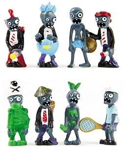 """16pcs Set 1-4"""" Plants vs Zombies Figure Toys Doll Pvc Figure Gargantuar Craze Dave Dr. Zomboss Collectors by Wutheringheights"""