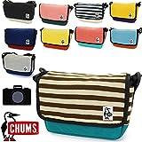 (チャムス) CHUMS スモールスウェット&ナイロンカメラバッグ CH60-0806 スレートブルー×フォックス:2615