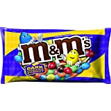 M&M'S Dark Chocolate Peanut Chocolate Candies, 12.6 Ounce Packages (Pack of 6)