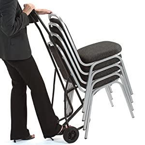 Trexus Chair Trolley for 10 Stacking Chairs       Office Productsreviews and more information