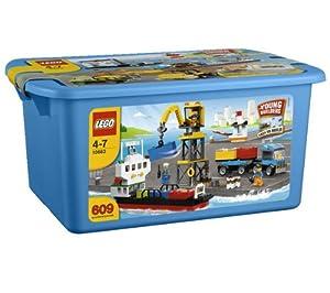 Lego Briques - 10663 - Jeu de Construction - Boîte de Construction du Port