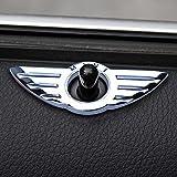 Deerway BMW Mini Cooper R55 R56 R57 R58 R59 ミニクーパー エンブレム ドアロックトリム 2個セット 左右 セット