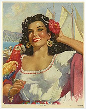 vintage mexican pin up jpg 1500x1000