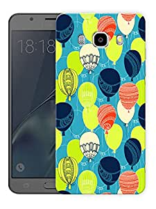 """Neon Bright BalloonsPrinted Designer Mobile Back Cover For """"Samsung Galaxy J5 2016 Edition"""" (3D, Matte, Premium Quality Snap On Case)"""
