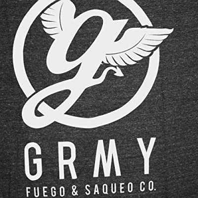 Grimey - GRMY Fuego & Saqueo T-Shirt weiß