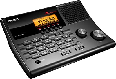 Uniden BC340CRS 100-Channel Clock Radio Scanner from Uniden