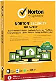 Norton Security mit Backup - 10 Geräte (PC, Mac, Android, iOS) (Product Key Card)