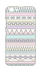 Amez designer printed 3d premium high quality back case cover forLenovo K5 Plus (pastel tribal print)
