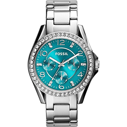 Fossil Women's ES3766 Riley Multifunction Stainless Steel Watch