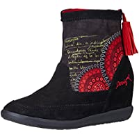 Desigual Women's Indy 6 Ketchup Boots - 4 UK