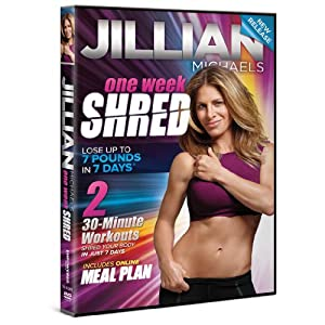 Move It Monday #2 : One Week Shred, One Week Later