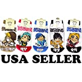 Big Bang Kpop Socks 5 Pairs (SEND FROM USA) ~ Kiss Socks